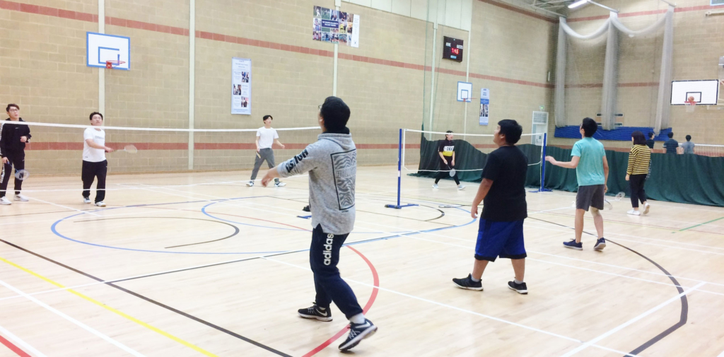 Badminton at Kelsey Kerridge