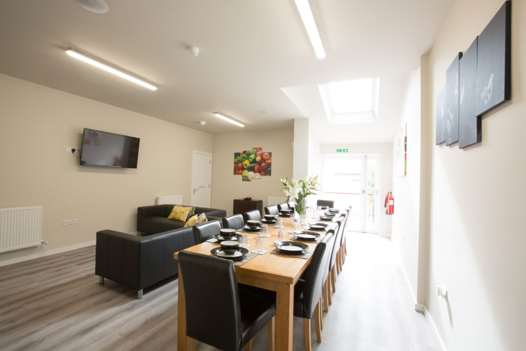 Student Common Room at our Cherry Hinton Road Residential accommodation