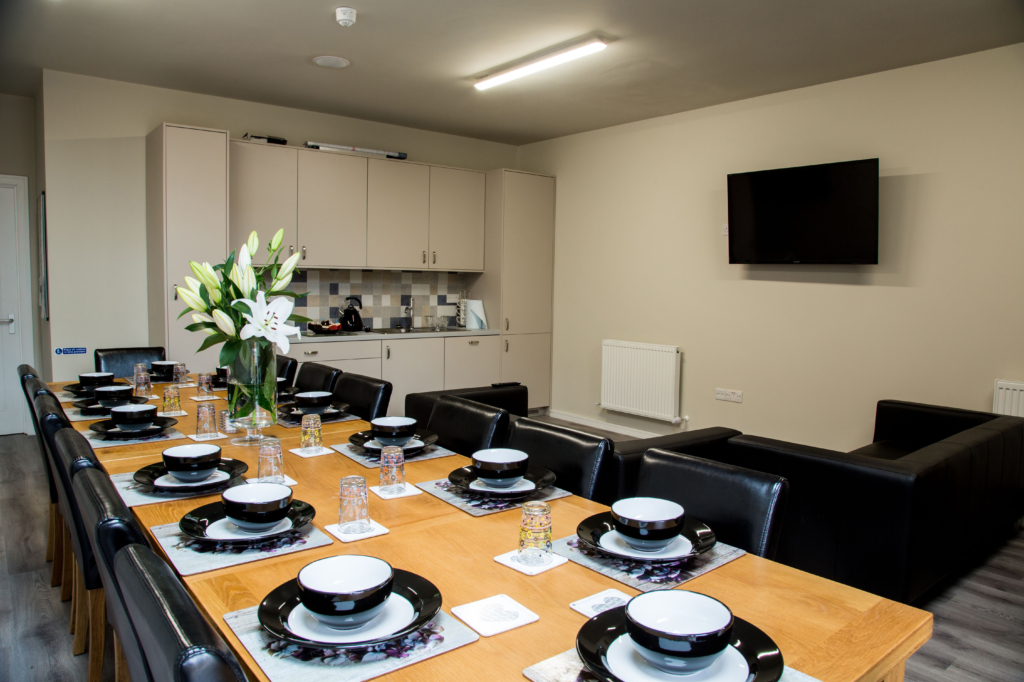 Residential Accommodation Dining Room