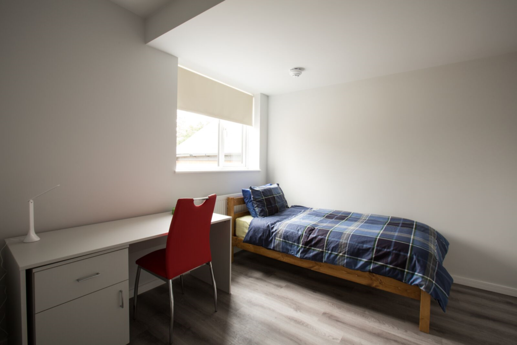 Single Bedroom at our Residential accommodation on cherry hinton road